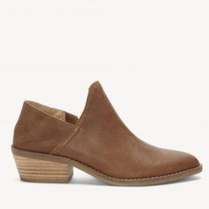 Lucky Brand Fausst Ankle Bootie Cedar Brown Boot
